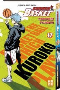 Kuroko's basket T17, manga chez Kazé manga de  Fujimaki