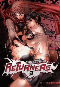 Returners T3, manga chez Tonkam de Gokurakuin