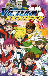 Victory kickoff  T4, manga chez Kazé manga de Kawabata, Wakamatsu