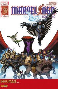 Marvel Saga Hors série T3 : Inhuman (3/3) - Héritage (0), comics chez Panini Comics de Soule, Araujo, Stegman, Isanove, Rosenberg