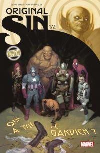 Original Sin T1 : Qui a tué le Gardien ? (0), comics chez Panini Comics de Aaron, Martin jr, Deodato Jr, Tedesco
