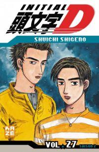 Initial D T27, manga chez Kazé manga de Shigeno