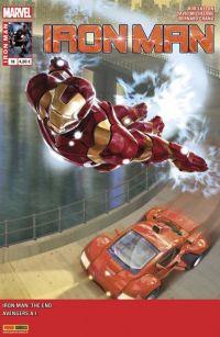 Iron Man (revue) – V 2, T18 : La fin (0), comics chez Panini Comics de Michelinie, Layton, Humphries, Chang, Araujo, Cavallaro, d' Armata