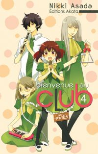 Bienvenue au club T4, manga chez Akata de Asada