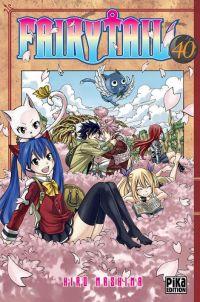 Fairy Tail T40, manga chez Pika de Mashima