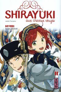 Shirayuki aux cheveux rouges T11 : , manga chez Kana de Akizuki