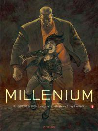 Millénium – cycle 3, T5 : La reine dans le palais des courants d'air (0), bd chez Dupuis de Runberg, Homs, Vernay