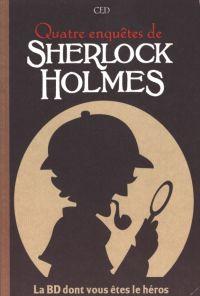 Sherlock Holmes – La BD dont vous êtes le héros T2, bd chez Makaka éditions de Ced