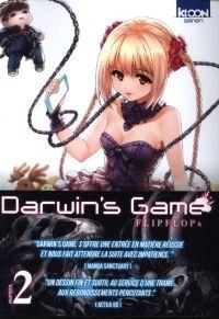 Darwin's game T2, manga chez Ki-oon de FLIPFLOPs