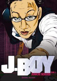 J.Boy T5, manga chez Delcourt de Noujou