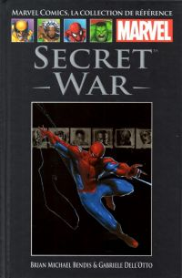 Marvel Comics, la collection de référence T37 : Secret War (0), comics chez Hachette de Bendis, Dell'otto