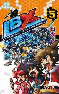 LBX Little Battlers Experience T5, manga chez Kazé manga de Fujii