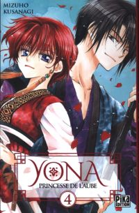 Yona, princesse de l'aube  T4, manga chez Pika de Mizuho