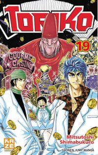 Toriko T19, manga chez Kazé manga de Shimabukuro