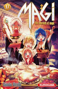 Magi, the labyrinth of magic  T17, manga chez Kurokawa de Ohtaka