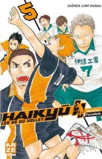 Haikyû, les as du volley T5, manga chez Kazé manga de Furudate