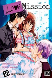 Love mission T10, manga chez Pika de Toyama