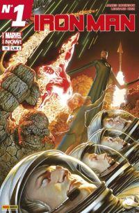 Iron Man (revue) – V 2, T19 : Les anneaux du Mandarin (0), comics chez Panini Comics de Gillen, Davis, Kot, Walsh, Kirk, Ross, Aburtov, Hollingsworth, Rosenberg, Guru efx, Wilson, Ross