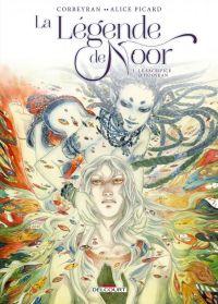 La Légende de Noor T1 : Le Sacrifice dHooskan (0), bd chez Delcourt de Corbeyran, Picard