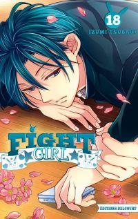 Fight girl T18, manga chez Delcourt de Tsubaki