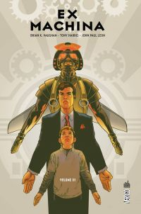 Ex Machina T3, comics chez Urban Comics de Vaughan, Leon, Harris, Mettler