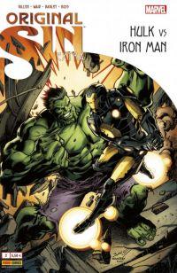 Original Sin – Extra, T2 : Hulk vs Iron Man (0), comics chez Panini Comics de Waid, Gillen, Bagley, Ross, Keith, Guru efx