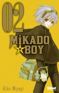 Mikado boy  T2, manga chez Glénat de Miyagi