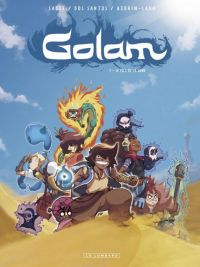 Golam T1 : Le fils de la lune (0), bd chez Le Lombard de Azorin-lara, Dos Santos, Sauge, Minte_ok