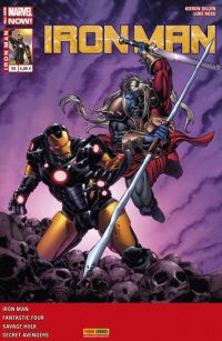 Iron Man (revue) T20 : L'homme intérieur (0), comics chez Panini Comics de Kot, Robinson, Gillen, Davis, Kirk, Ross, Walsh, Hollingsworth, Wilson, Aburtov, Guru efx, Perkins
