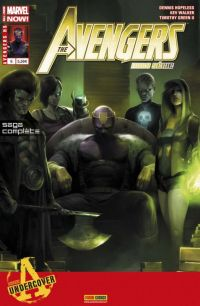 The Avengers (revue) – Hors série, T6 : Descente (0), comics chez Panini Comics de Hopeless, Green II, Walker, Beaulieu, Mattina