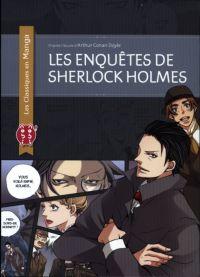 Les Enquêtes de Sherlock Holmes, manga chez Nobi Nobi! de Doyle