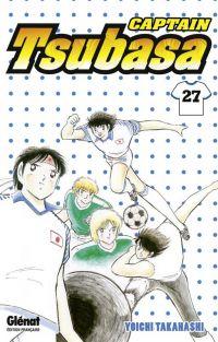 Captain Tsubasa T27, manga chez Glénat de Takahashi