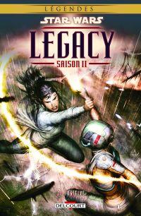 Star Wars Legacy – Saison 2, T3 : Fugitive (0), comics chez Delcourt de Hardman, Bechko, Boyd, Alessio