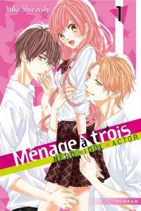Ménage à trois T1, manga chez Tonkam de Shiraishi