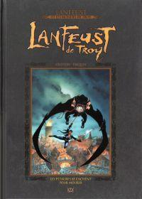 Lanfeust et les mondes de Troy T7 : Lanfeust de Troy - Les pétaures se cachent pour mourir (0), bd chez Hachette de Arleston, Tarquin, Guth, Lamirand
