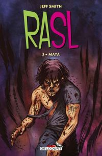 Rasl T3 : Maya (0), comics chez Delcourt de Smith, Hamaker