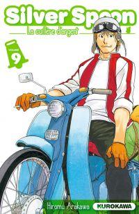 Silver spoon T9, manga chez Kurokawa de Arakawa