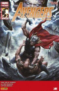 Avengers Universe (revue V1) T21 : Les dernières heures de Midgard (0), comics chez Panini Comics de Remender, Aaron, Robinson, Klein, Pugh, Ribic, Alessio, Guru efx, White, Svorcina