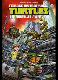 Teenage Mutant Ninja Turtles T2 : Les nouvelles aventures (0), comics chez Soleil de Burnham, Byerly, Brizuela, Breckel
