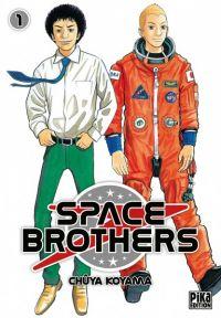 Space brothers T10 : , manga chez Pika de Koyama