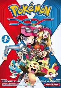 Pokémon XY T1, manga chez Kurokawa de Kusaka, Yamamoto
