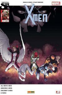 X-Men (revue) – V 4, T21 : Le testament de Charles Xavier (0), comics chez Panini Comics de Yost, Kyle, Bendis, Spurrier, Anka, Immonen, Molina, McGuinness, Bachalo, Rosenberg, Gracia