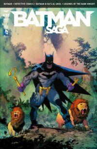 Batman Saga T35, comics chez Urban Comics de Manapul, King, Seeley, Buccellato, Simone, Tomasi, Snyder, Janin, Gray, Glapion, Capullo, Miki, Gleason, Pasarin, Blond, FCO Plascencia, Kalisz, Cox