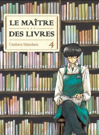 Le maître des livres T4, manga chez Komikku éditions de Shinohara