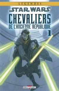 Star Wars - Chevaliers de l'ancienne République T1 : Il y a bien longtemps... (0), comics chez Delcourt de Jackson Miller, Foreman, Ching, Atiyeh, Charest