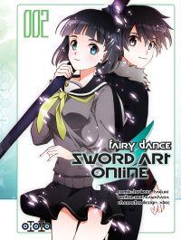 Sword art online - Fairy dance T2, manga chez Ototo de Kawahara, Hazuki
