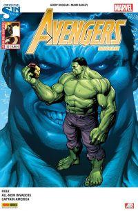 Avengers Universe (revue V1) T22 : L'oméga Hulk (0), comics chez Panini Comics de Remender, Duggan, Robinson, Laming, Bagley, Klein, Keith, Guru efx, White, Frank