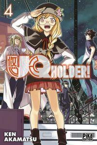 UQ Holder! T4, manga chez Pika de Akamatsu