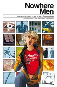 Nowhere Men T1 : Un destin pire que la mort (0), comics chez Delcourt de Stephenson, Bellegarde, Bellaire