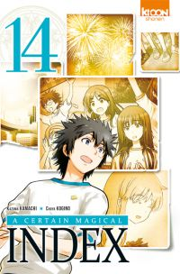 A certain magical index T14, manga chez Ki-oon de Kamachi, Kogino